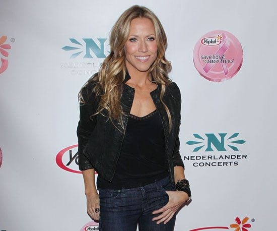 Slide Picture of Sheryl Crow Attending a Breast Cancer Awareness Event