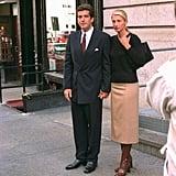 Carolyn Bessette-Kennedy Wore a Similar Ensemble Back in 1996