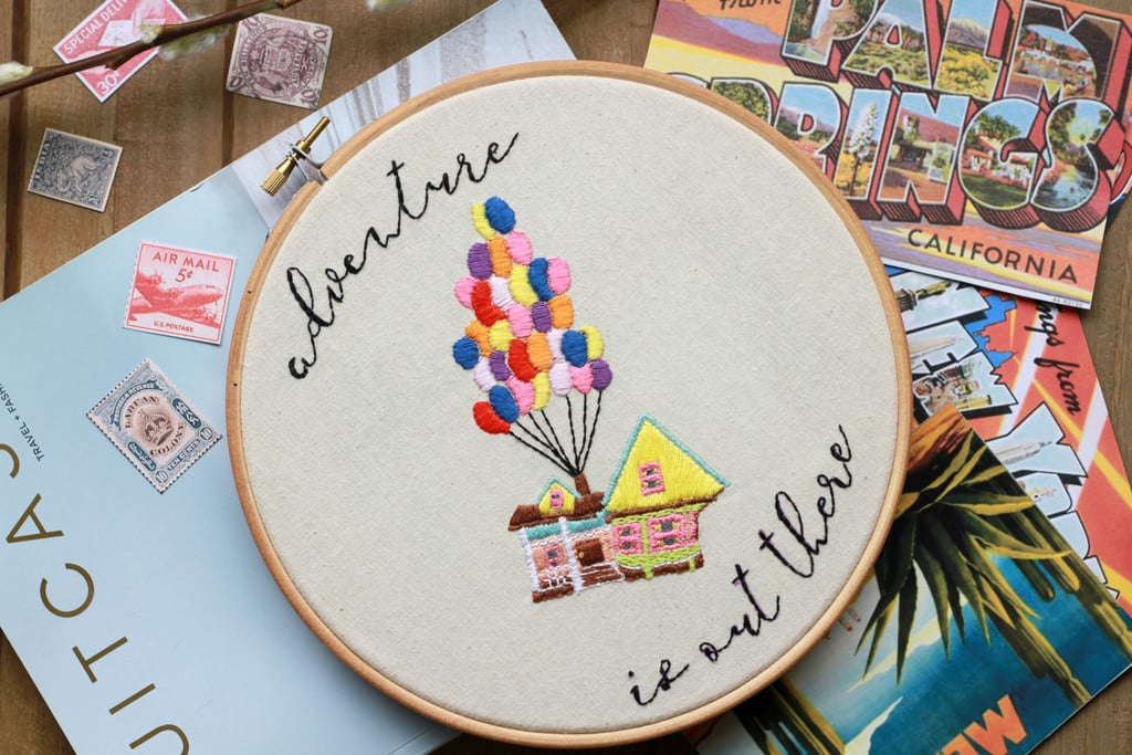 Disney Quote Embroidery Hoops Popsugar Smart Living