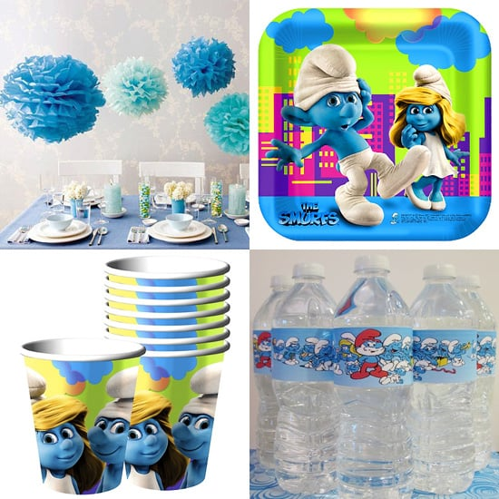 Smurfs Party Decorations