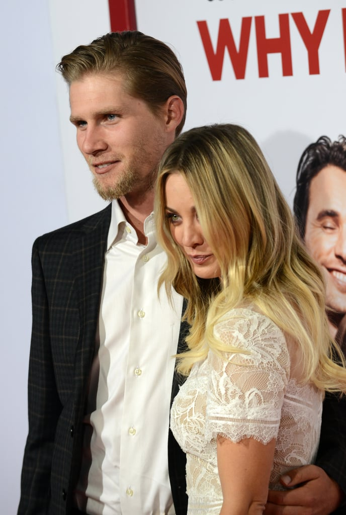 Kaley Cuoco and Karl Cook at Why Him? Premiere 2016