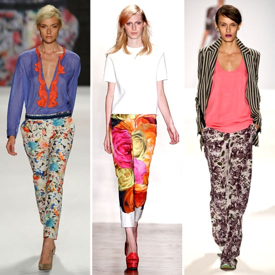 How to Wear Floral Printed Pants