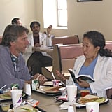 Director Peter Horton and Sandra Oh