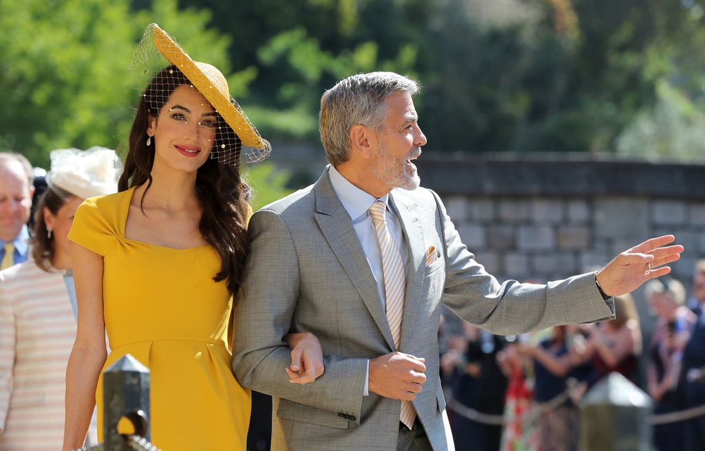 George and Amal Clooney at the Royal Wedding Amal-Clooney-Dress-Royal-Wedding-2018