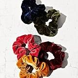 Velvet Hair Scrunchie Set
