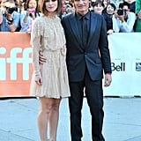 Costars Keira Knightley and Viggo Mortensen attended the A Dangerous Method premiere together.