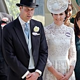 Kate Middleton and Prince William Smiling For Photos 2017