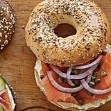 Bagels, Cream Cheese & Nova Scotia Salmon From H&H Bagels