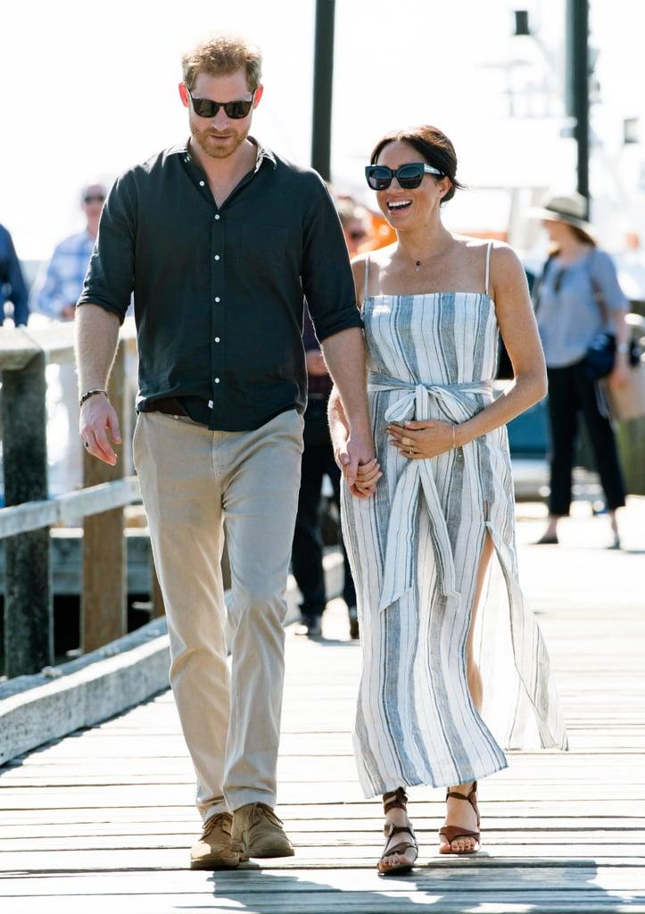 Prince Harry and Meghan Markle on Fraser Island Photos 2018