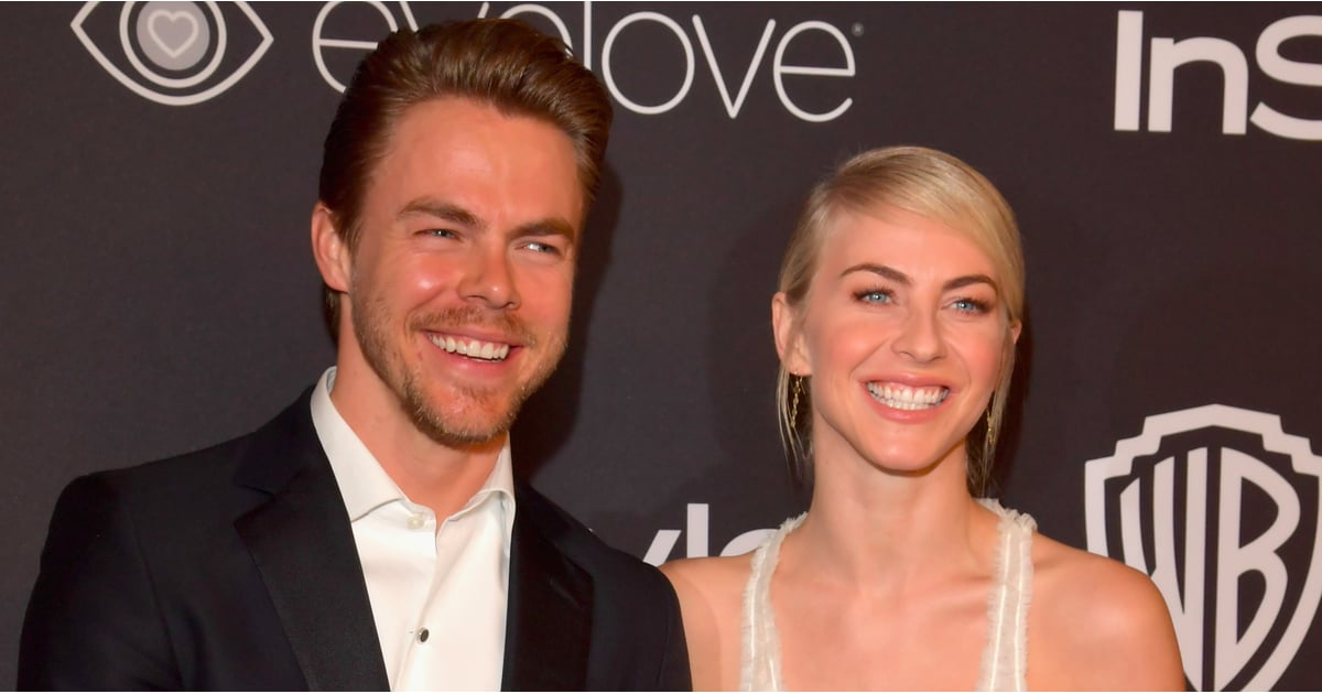 Julianne and Derek Hough at 2017 Golden Globes Afterparty ...