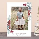 Sweeping Blooms Card from Minted ($1-$3 per card)