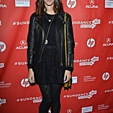 Kaya Scodelario walked the red carpet at the premiere of Emanuel and the Truth About Fishes on Friday at the Sundance Film Festival.