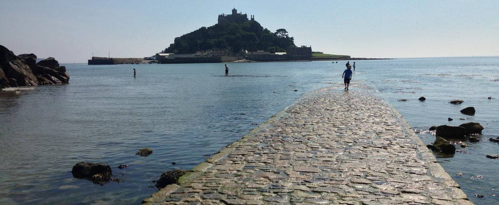You Can Actually Walk Across the Ocean to This English Castle During Low Tides