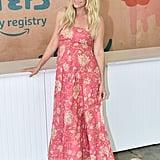 Lauren Conrad Floral Maternity Dress