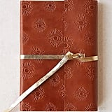 Leather Wrap Embossed Eye Journal