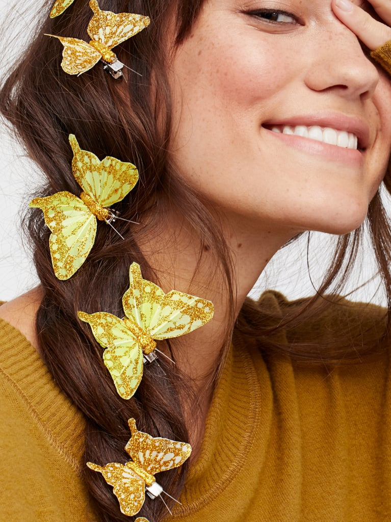 Butterfly Hair Clip 7-Pack – Gold