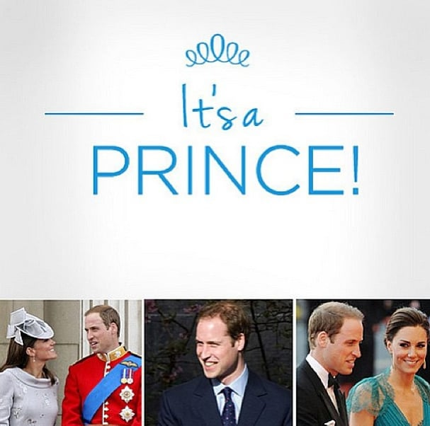 In case you missed it, Kate Middleton gave birth to a baby prince this week!