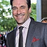 Jon Hamm on the red carpet.