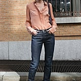 Sometimes, you just feel like wearing jeans — and that's totally cool when they look this easy and chic.