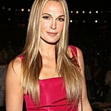 Molly Sims at Carolina Herrera Spring 2014.
