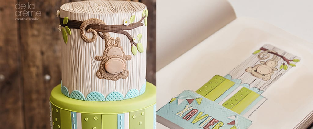 The Prettiest Over-the-Top Baby Shower Cakes