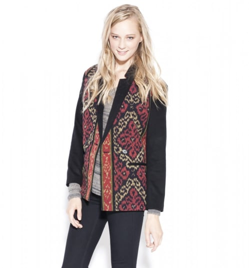 We love the exotic print on this Giada Forte Ikat belted coat ($193, originally $691), with special code EXTRA60POP.