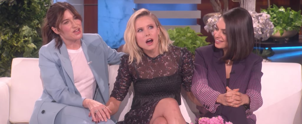 Kristen Bell on Breast-Pumping While Working