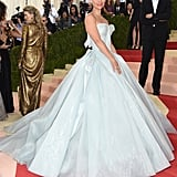 Claire Danes Wearing a Zac Posen Dress