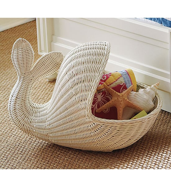 Whale Basket Whale Themed Nursery Decor Popsugar