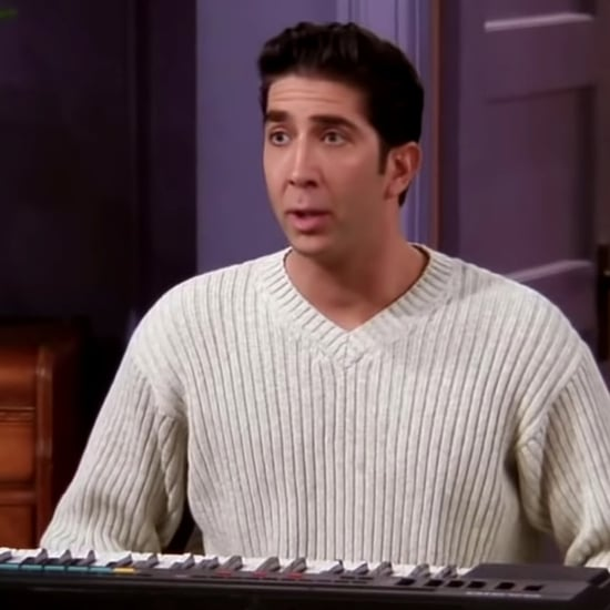 Nicolas Cage's Face on Ross From Friends