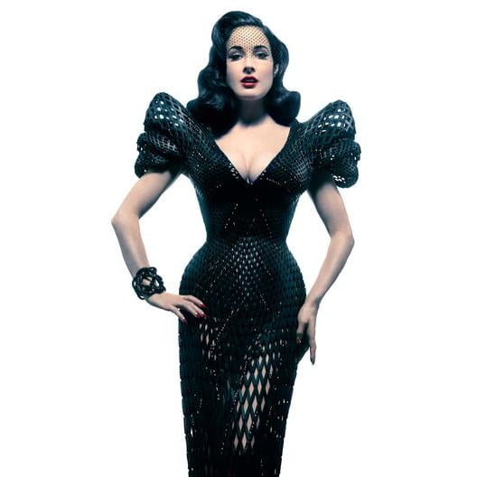 Dita Von Teese 3D-Printed Dress