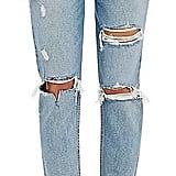 Jen's GRLFRND Women's Karolina Distressed Skinny Jeans
