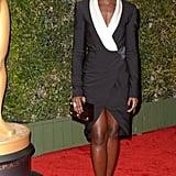 Lupita Nyong'o attended the Governors Awards.