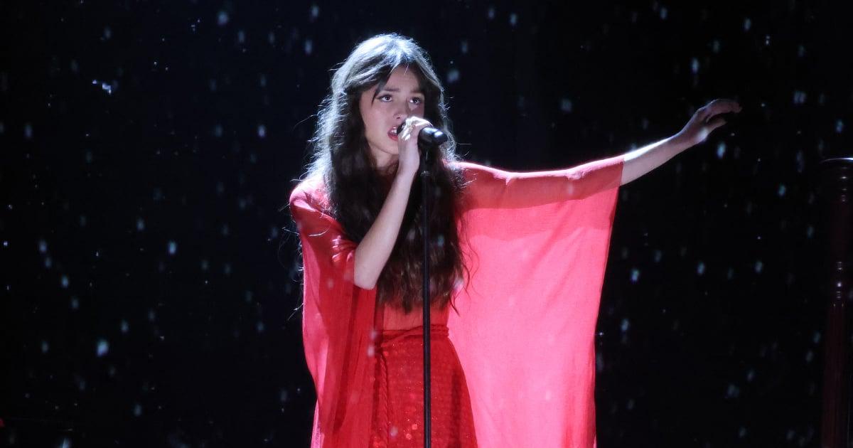 Olivia Rodrigo's BRIT Awards Performance Look Is Unlike Anything We've Ever Seen Her Wear.jpg