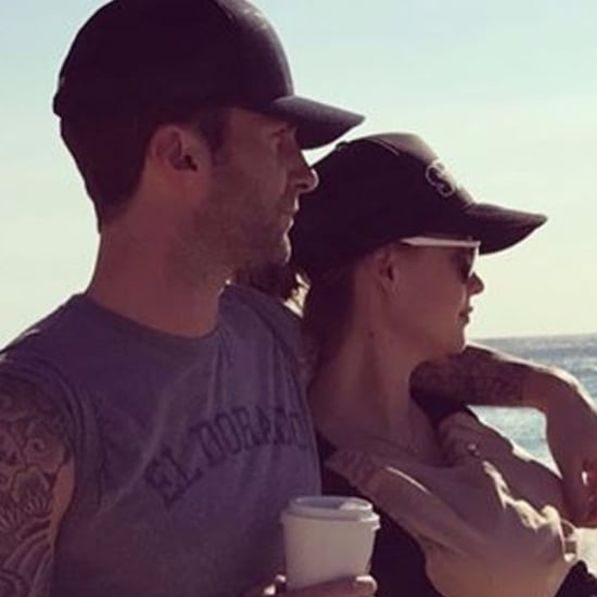 Adam Levine's Instagram Photo of Daughter at the Beach