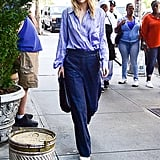 Suki Waterhouse Wore a Business-Casual Look