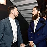 Pictured: Mike Shinoda and Jared Leto