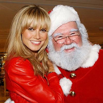 Celebrities with Santa