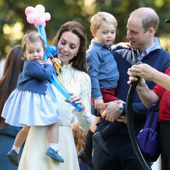 Prince George and Princess Charlotte Matching Pictures