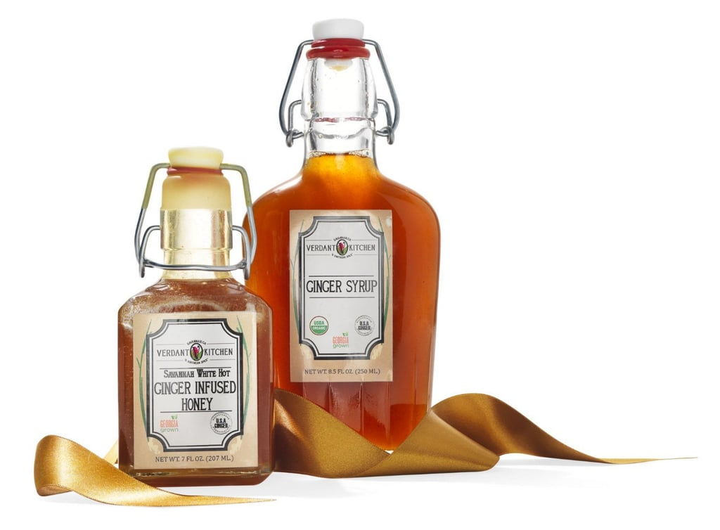 Verdant Kitchen Ginger Syrup and Ginger-Infused Honey