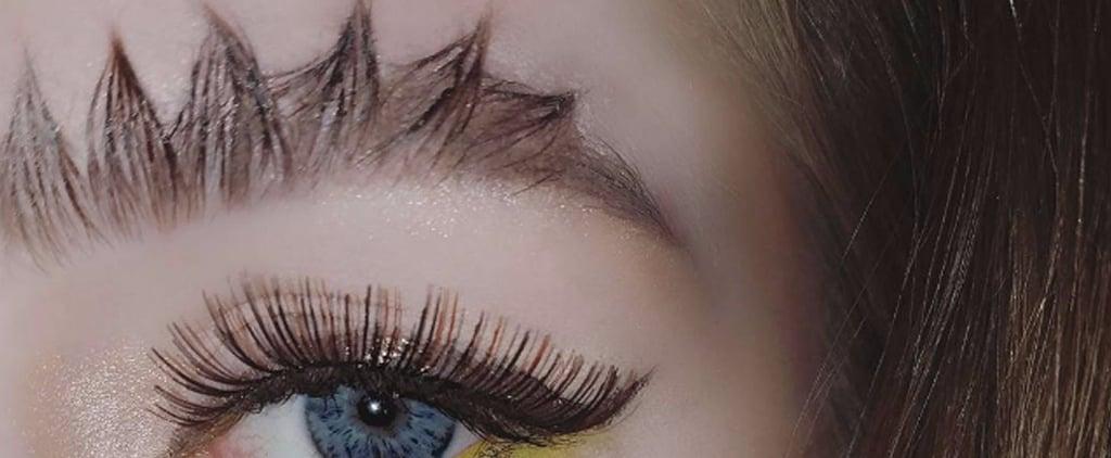 Dragon Eyebrow Trend Instagram