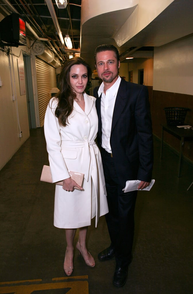 Photos of Angelina Jolie and Brad Pitt Seeing God of Carnage