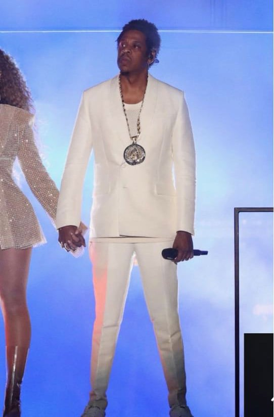 Beyonce and Jay Z On THE Run II Tour Outfits