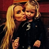 A Sweet Moment For Jessica Simpson and Maxwell Johnson