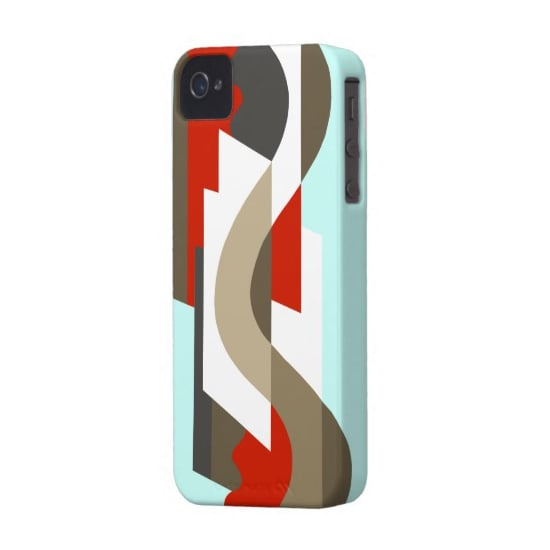 If iPhones had been around at the time, then we could so see this art deco iPhone 4 or 4S case ($45) in Joan's or Peggy's hands.