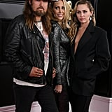 Billy Ray Cyrus, Tish Cyrus, and Miley Cyrus
