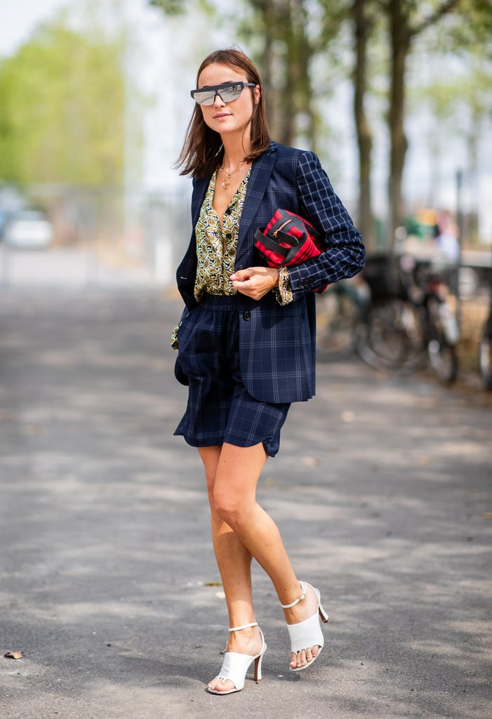 28 Easy Ways to Style Your Shorts With a Blazer