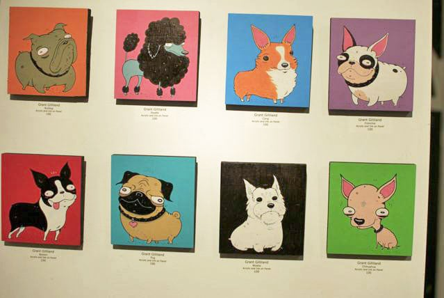 Poodles, Chihuahuas, and Frenchies —oh my. What a vibrant bunch!
