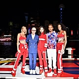 Hailey Posed With Tommy Hilfiger, Maggie Jiang, Lewis Hamilton, and Winnie Harlow