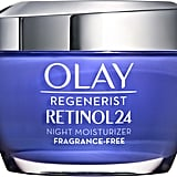 Best Face Moisturizer For Antiaging: Olay Regenerist Retinol 24 Night Moisturizer
